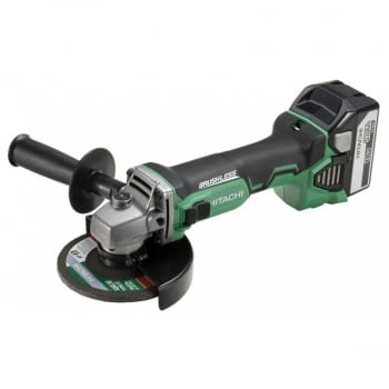 Mini-amoladora a batería 18V  125 mm  G18DBL  HITACHI