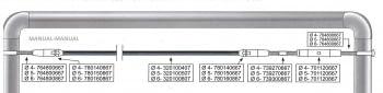 Kit 1 tramo para cable barandilla inox plana para poste de tubo