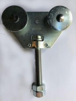 Roldana doble giratoria ref. R-2G  para guía 60x55 mm MAFRA