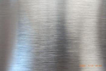 Tubo inox redondo acabado satinado AISI-304 (barras 3 metros) - 1