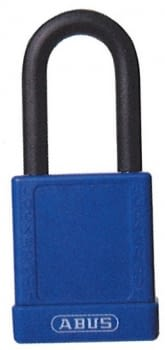 Candados industriales con recubrimiento plástico y arco normal ABUS / Caja 6 unidades