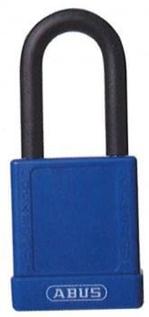 Candados industriales de llaves iguales con recubrimiento y arco normal / Caja 6 unidades