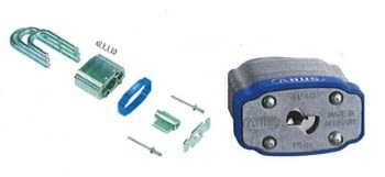 Candados seguridad de arco corto en acero laminado con protección anticorrosiva ABUS / Se venden a cajas enteras - 1
