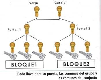 Amaestramiento de cilindros tipo grupos con comunes