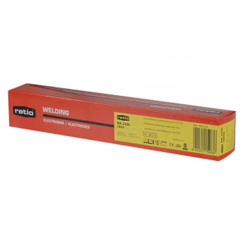 Electrodos inoxidables 2,5x300 mm RATIO (paquete 106 unidades)
