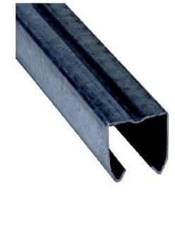 Guía 3 metros puerta corredera 40x40 mm para MAFRA