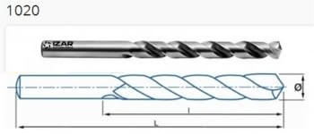 Brocas HSSE Inox serie corta ref. 1020 IZAR
