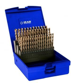 Juego Brocas cobalto 41 pcs (6-10 x 0,10 mm) IZAR