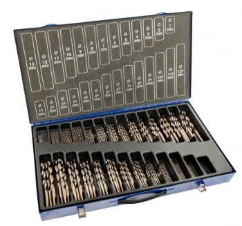 Juego Brocas cobalto 220 pcs (1-13 x 0,5 mm + 3,3 + 4,2 mm) IZAR