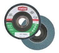 Disco abrasivo láminas de abrasivo zirconio para inox / hierro RATIO