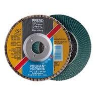 Discos abrasivos láminas 115 mm POLIFAN Zirconio  línea PSF  PFERD