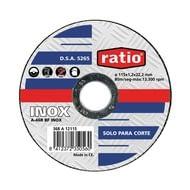 Disco fino para corte de inox / metal  RATIO