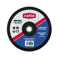 Disco corte metal con corindón A30QBF RATIO