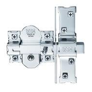 Cerrojo antipalanca botón + llave mod. 946-RP/80 UVE FAC