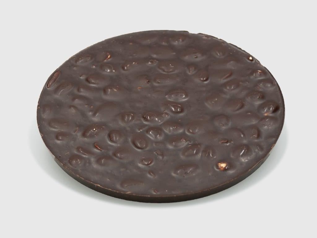 Torta Turrón Chocolate Sin Leche con almendras 250 gr