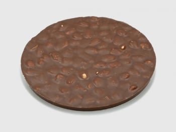 Torta Turrón Chocolate con Leche y almendras 250 gr