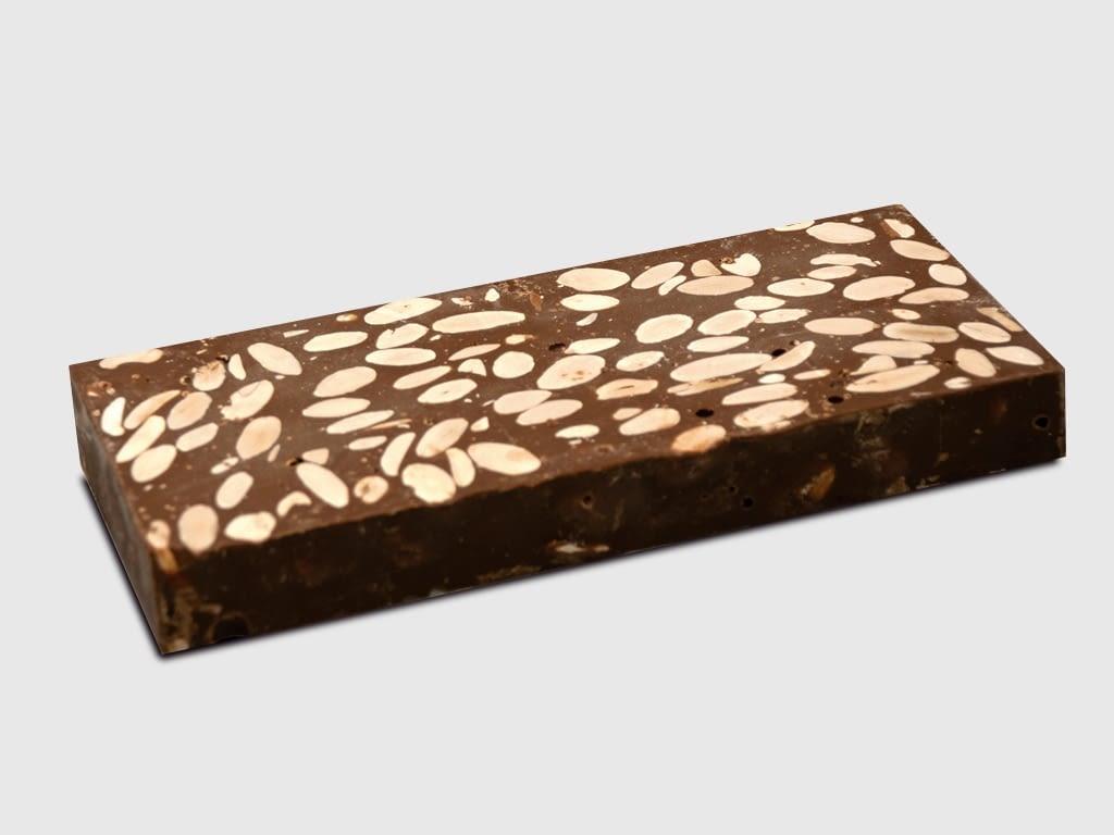 Turrón Chocolate Almendras Leche 300gr.