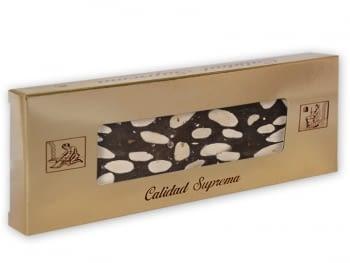 Turrón Chocolate Almendras Sin Leche 500gr.
