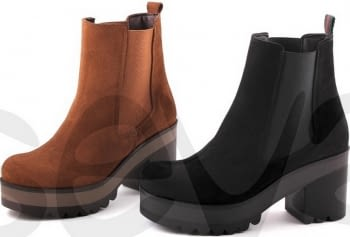 BOTINES MUJER.PIEL. MARCA:IN SHOES - 1