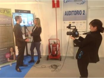 Presentación Ebasnet en eShow Barcelona TV