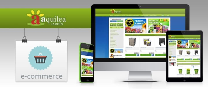 Nueva migración de tienda online para AquileaJardin.es