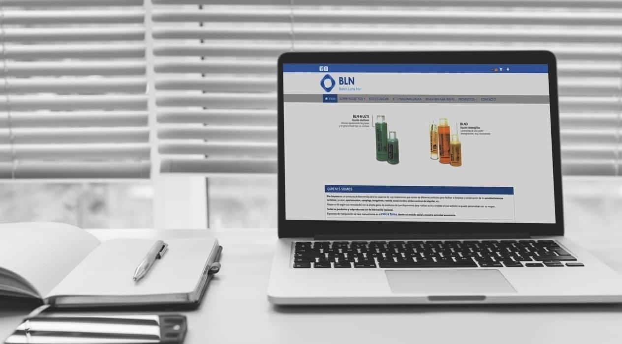 Nueva Web Corporativa más Tienda OnLine para Batch Lofts Net