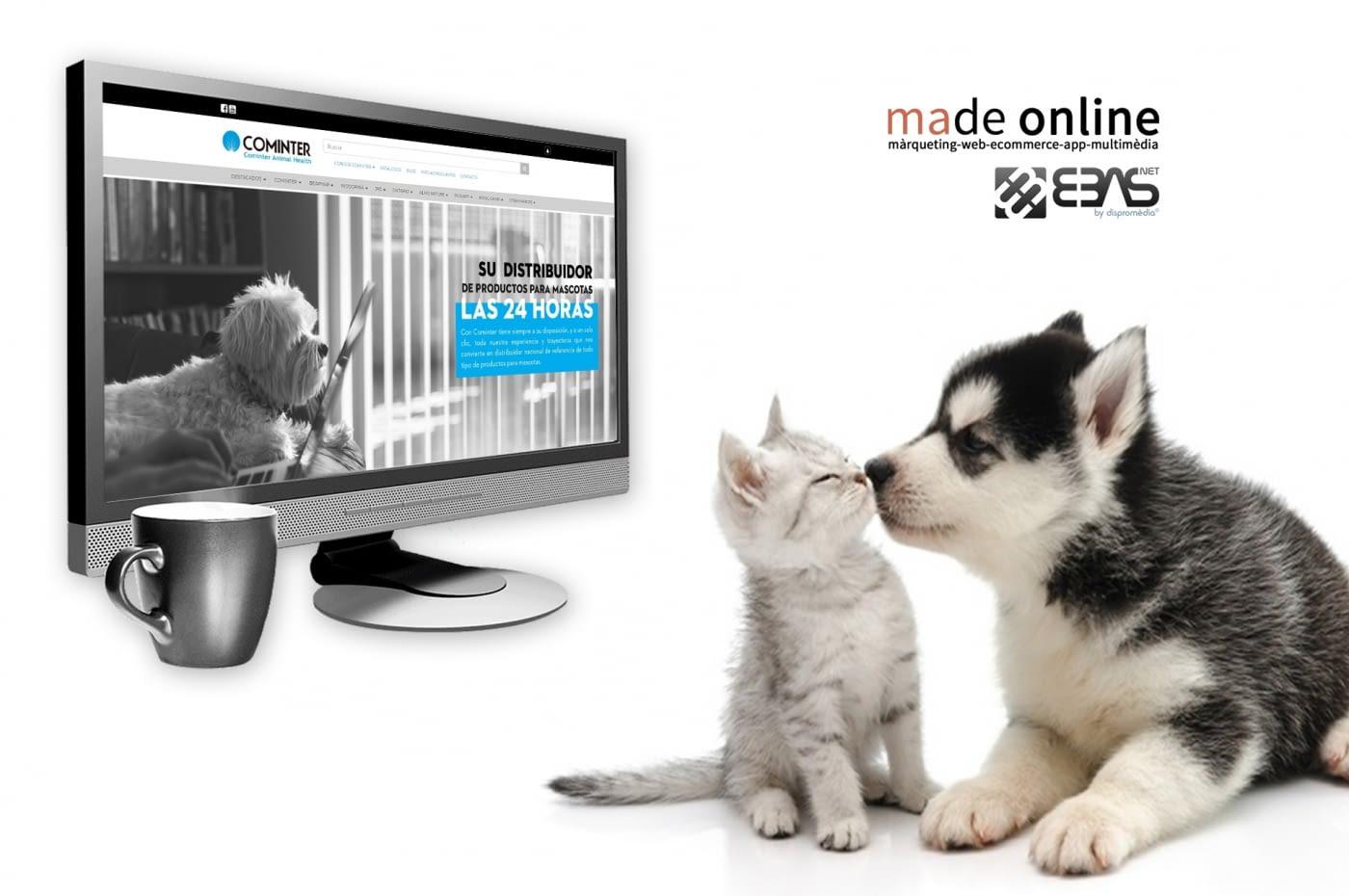 Nueva Web Corporativa más Tienda online (B2B) creada por nuestro partner Made online