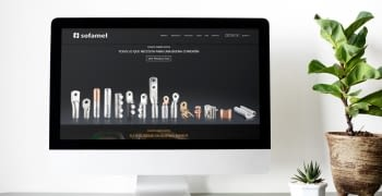 Sofamel relies on Ebasnet to create its website