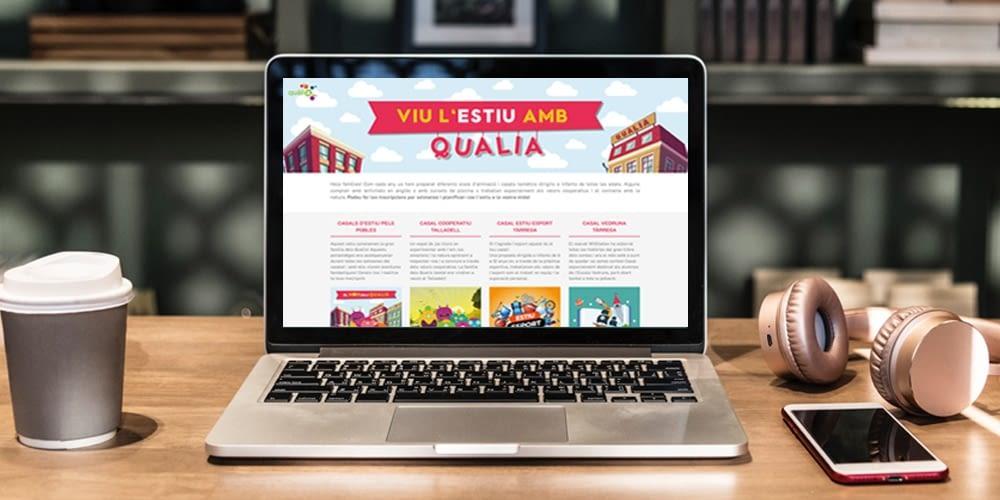 Nueva web de los casales de lleurequalia del grupo Asociación Alba