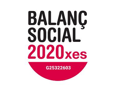 Nos acreditamos con el Balanç Social 2020, Rendición de cuentas y análisis del impacto de nuestra actividad