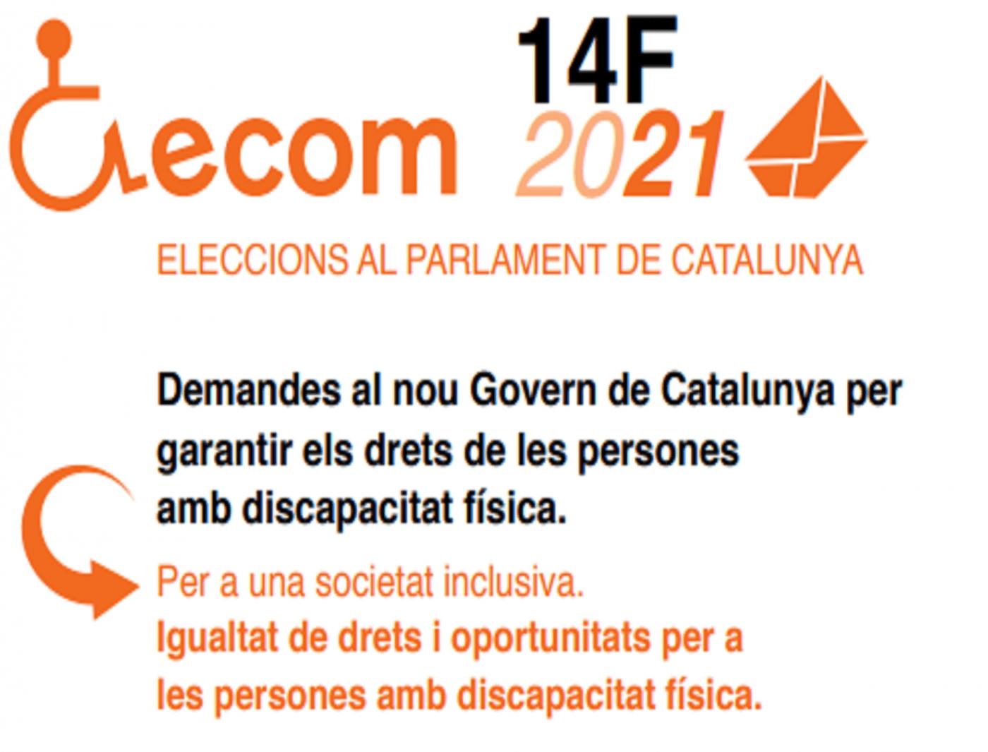 El sector de la discapacitat física, trasllada als partits polítics les seves propostes per a les properes eleccions Autonòmiques