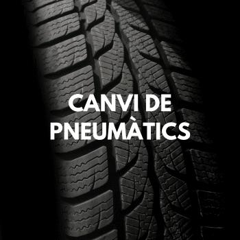 Canvi de pneumàtics