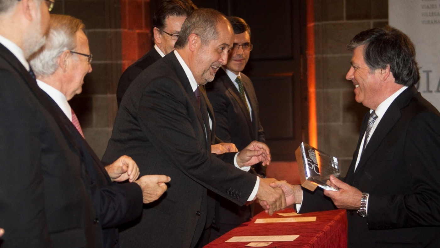Award from the Chamber of Commerce of Barcelona