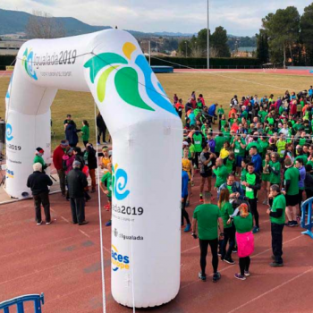 Calaf Grup collaborates in the 2nd edition of the Anoia Race Against Cancer organized by the AECC