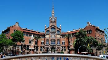 Constructora Calaf completes the works at Hospital Santa Creu & Sant Pau in Barcelona
