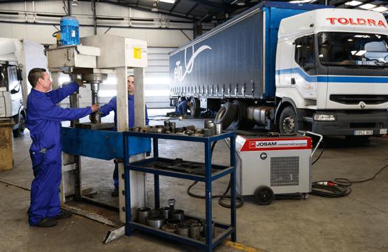 taller mecanico carrocerias