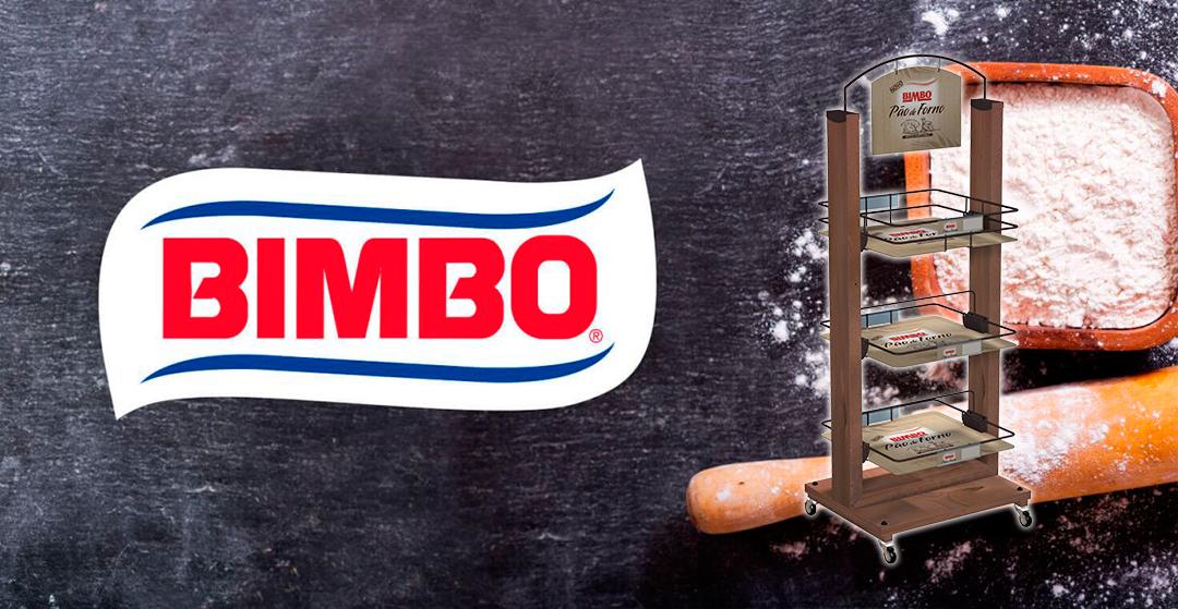Bimbo Display stand