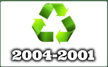 Des del Año 2004 al 2001