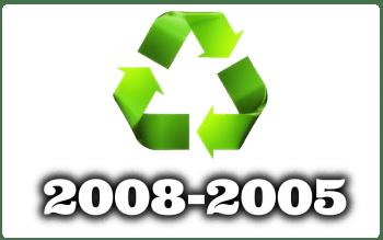 Des del Año 2008 al 2005
