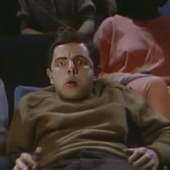 Projecció Mr. Bean en pantalla gegant