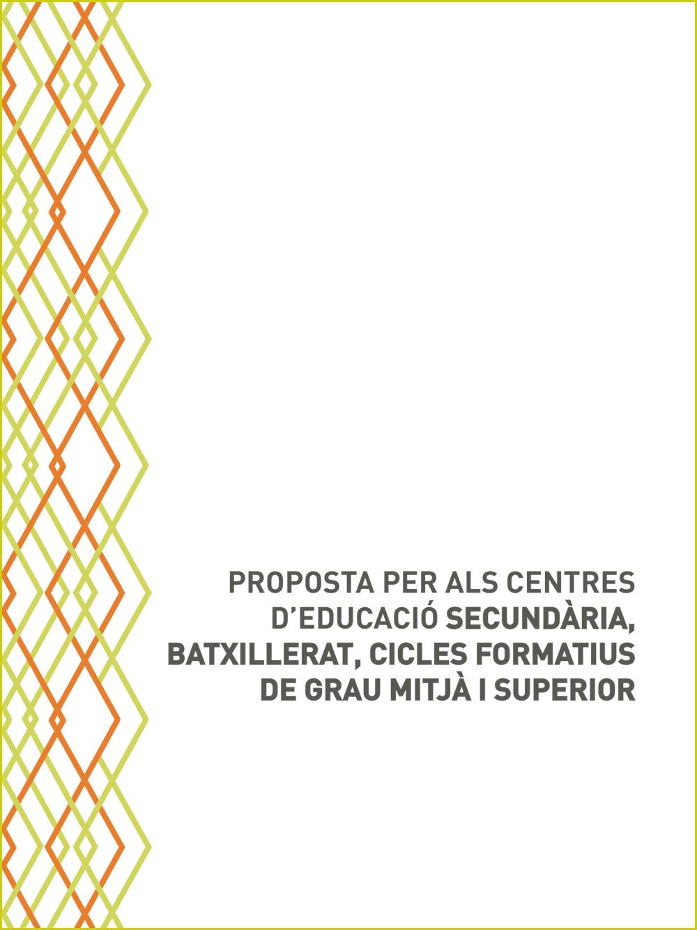 Catàleg de formacions per a centres educatius