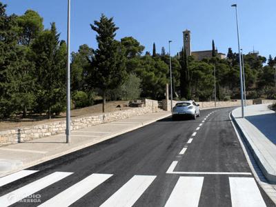 L'Ajuntament de Tàrrega reobre al trànsit el carrer de La Pau, un cop finalitzades les obres d'adequació