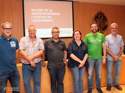 L'Ajuntament de Tàrrega fixa reptes estratègics, més inversions i reducció d'impostos una vegada assolida l'estabilitat a les arques municipals