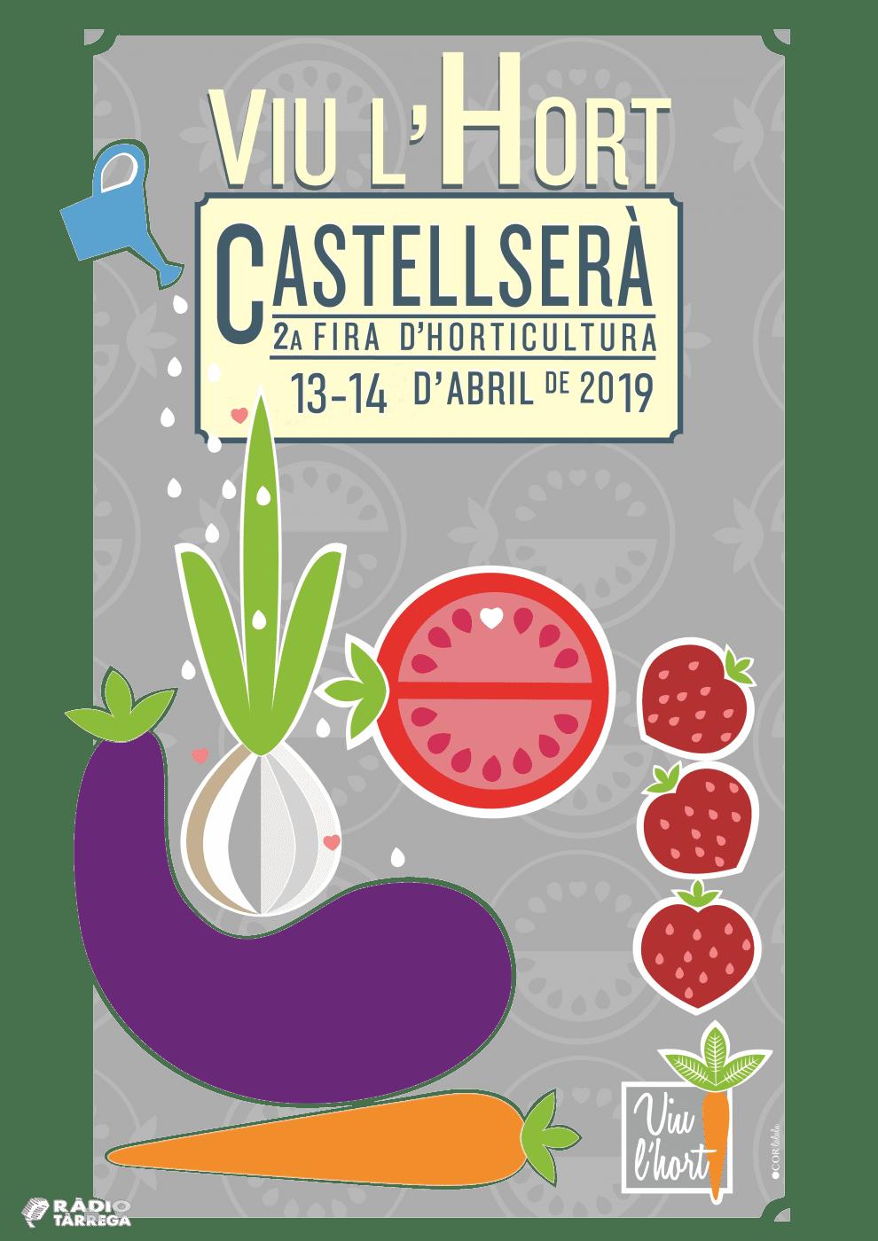 13 i 14 d'abril, 2a edició de Viu l'Hort a Castellserà