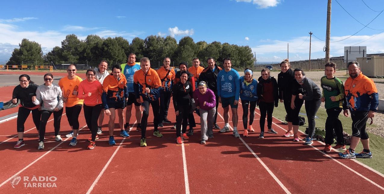 Tot a punt per la 12a edició del TU POTS, que s'organitza des del Club d'Atletisme 100x100 Fondistes
