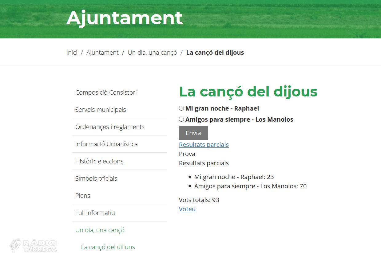Cançons i vermut per passar millor les hores de confinament a Castellserà