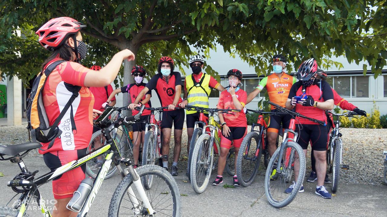 El Club Ciclista Alba de Tàrrega gaudirà de les beques Titan Life by KH-7
