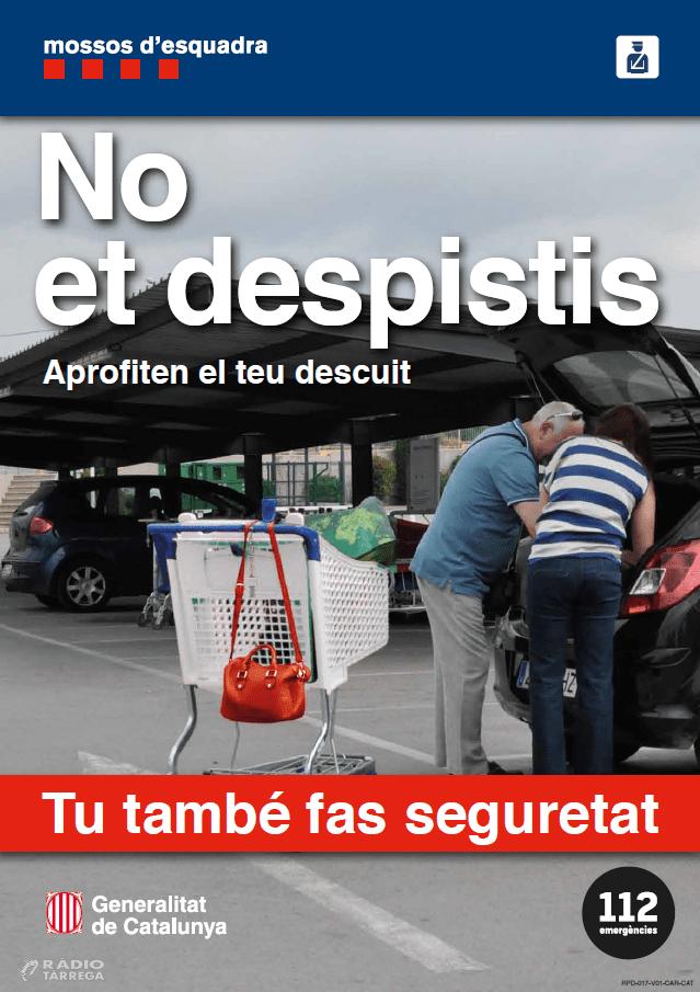 """Els Mossos d'Esquadra alerten d'un tipus de furt a la plana de Lleida anomenat """"mètode sembra"""""""