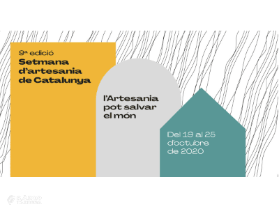 Verdú participa de la 9è Setmana de l'Artesania de Catalunya