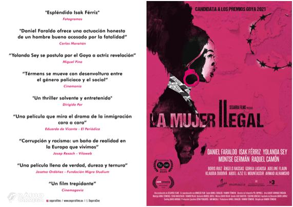 El director de cinema Ramon Termens presenta a Tàrrega el seu últim largmetratge, La dona il·legal